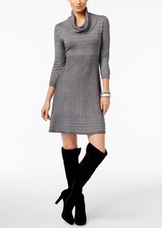 Inc International Concepts Cowl-Neck Sweater Dress, Only at Macy's