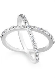 INC International Concepts I.n.c. Criss Cross Rhinestone Rings, Created for Macy's