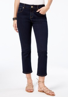 Inc International Concepts Curvy-Fit Cropped Straight-Leg Jeans, Created for Macy's