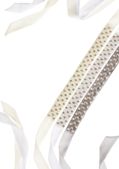 Inc International Concepts Crystal and Imitation Pearl Sash Belt, Created for Macy's