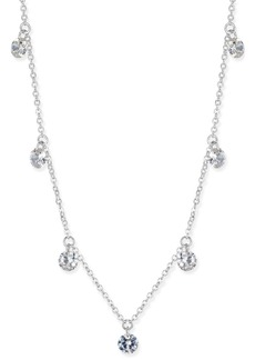 INC International Concepts Inc Cubic Zirconia Crystal Drop Necklace, Created for Macy's