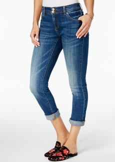 Inc International Concepts Cuffed Curvy-Fit 5-Pocket Boyfriend Jeans, Created for Macy's
