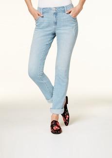 I.n.c. Cuffed Curvy-Fit 5-Pocket Boyfriend Jeans, Created for Macy's