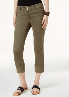 Inc International Concepts Curvy Cuffed Cropped Jeans, Only at Macy's