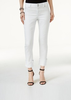 Inc International Concepts Cuffed Straight-Leg Curvy Jeans, Only at Macy's