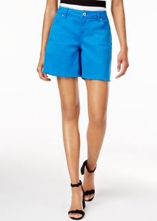 Inc International Concepts Curvy Cutoff Shorts, Created for Macy's
