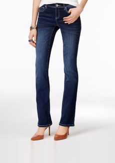 Inc International Concepts Petite Spirit Wash Bootcut Jeans, Only at Macy's