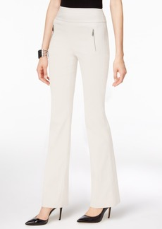 Inc International Concepts Zip-Pocket Wide-Leg Pants, Only at Macy's