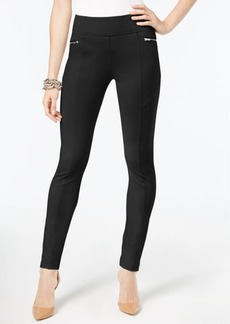 INC International Concepts Inc Skinny Moto Pants, Created for Macy's