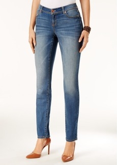 Inc International Concepts Curvy Gardenia Wash Skinny Jeans, Only at Macy's