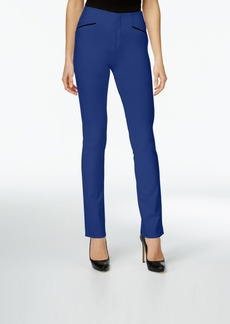 Inc International Concepts Curvy Straight-Leg Pants, Only at Macy's