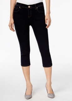 Inc International Concepts Embroidered Curvy Cropped Jeans, Only at Macy's