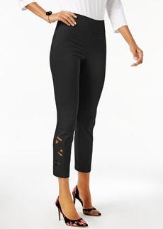 Inc International Concepts Cutout Skinny Pants, Created for Macy's