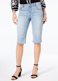 Inc International Concepts Curvy Denim Bermuda Shorts, Created for Macy's