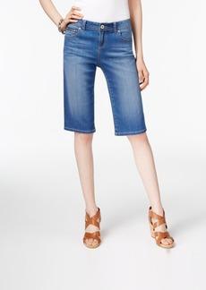Inc International Concepts Denim Bermuda Shorts, Only at Macy's