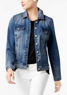 I.n.c. Denim Trucker Jacket, Created for Macy's