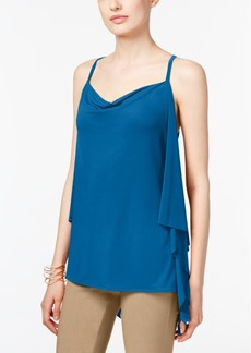 Inc International Concepts Draped-Back Top, Created for Macy's