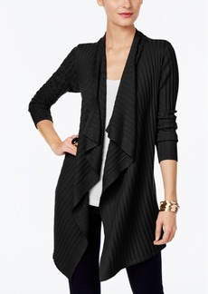 Inc International Concepts Draped Cardigan, Only at Macy's