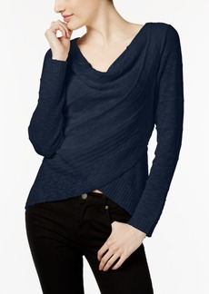 Inc International Concepts Draped Crossover Top, Created for Macy's