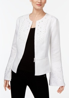 Inc International Concepts Embellished Peplum Jacket, Only at Macy's