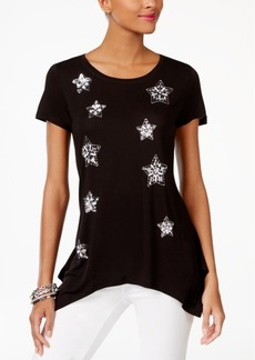 Inc International Concepts Embellished T-Shirt, Created for Macy's