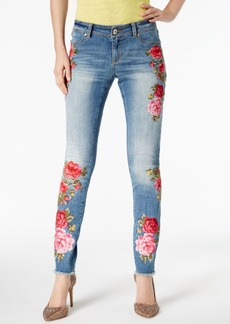 Inc International Concepts Embroidered Curvy Skinny Jeans, Created for Macy's