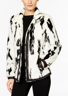 Inc International Concepts Faux-Fur Jacket, Only at Macy's