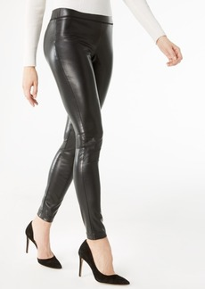 INC International Concepts I.n.c. Petite Faux-Leather Skinny Pants, Created for Macy's