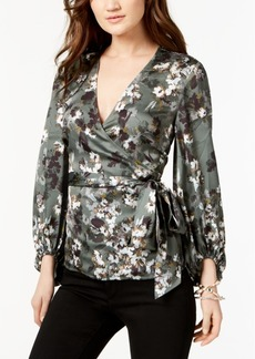 INC International Concepts I.n.c. Faux-Wrap Top, Created for Macy's