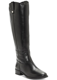 I.n.c. Fawne Wide-Calf Riding Boots, Created for Macy's Women's Shoes