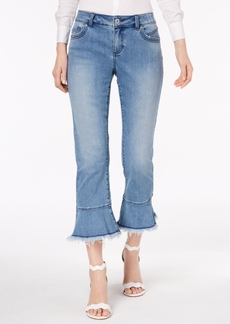 Inc International Concepts Flared Cropped Jeans, Created for Macy's
