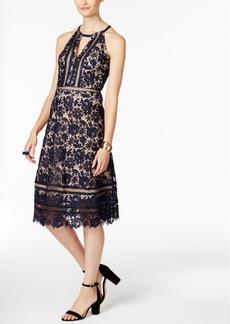 Inc International Concepts Floral-Lace A-Line Dress, Only at Macy's
