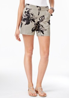 Inc International Concepts Floral-Print Shorts, Only at Macy's