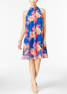 Inc International Concepts Floral-Print Trapeze Dress, Created for Macy's