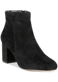 INC International Concepts I.n.c. Floriann Block-Heel Ankle Booties, Created for Macy's Women's Shoes