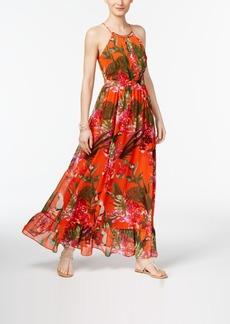 Inc International Concepts Flounce-Hem Maxi Dress, Only at Macy's