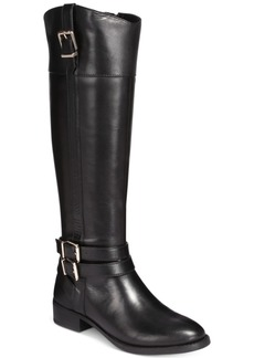 I.n.c. Frankii Wide-Calf Riding Boots, Created for Macy's Women's Shoes