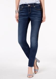 I.n.c. Frayed-Hem Skinny Jeans, Created for Macy's