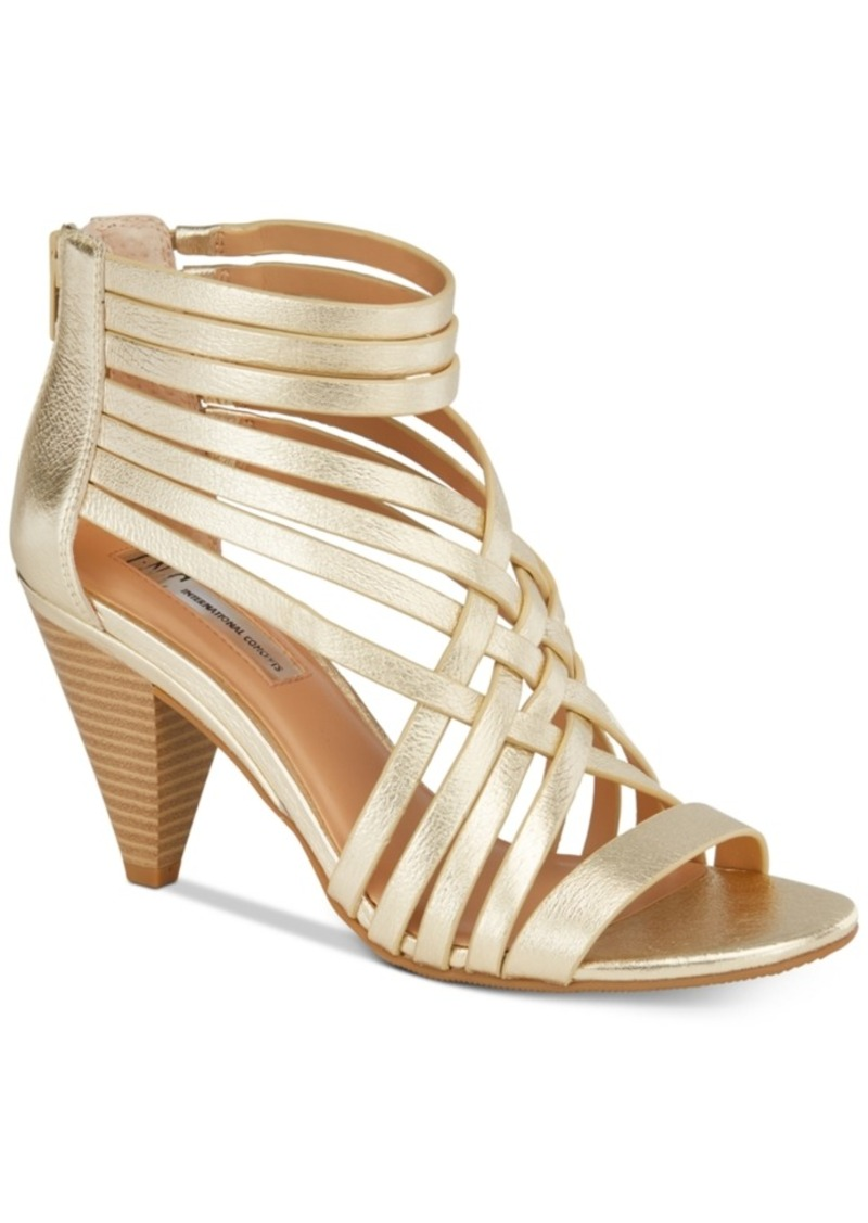 Inc International Concepts Garoldd Strappy High Heel Dress Sandals, Created  for Macy's Women's Shoes - INC International Concepts Inc International Concepts Garoldd