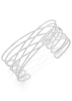 INC International Concepts Inc Gold-Tone Crisscross Cuff Bracelet, Created for Macy's