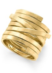 Inc International Concepts Gold-Tone Spiral Ring, Created for Macy's