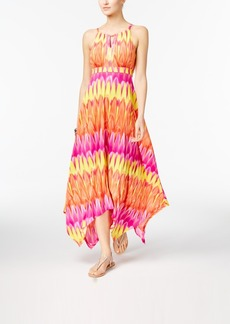 Inc International Concepts Popsicle Handkerchief-Hem Maxi Dress, Only at Macy's