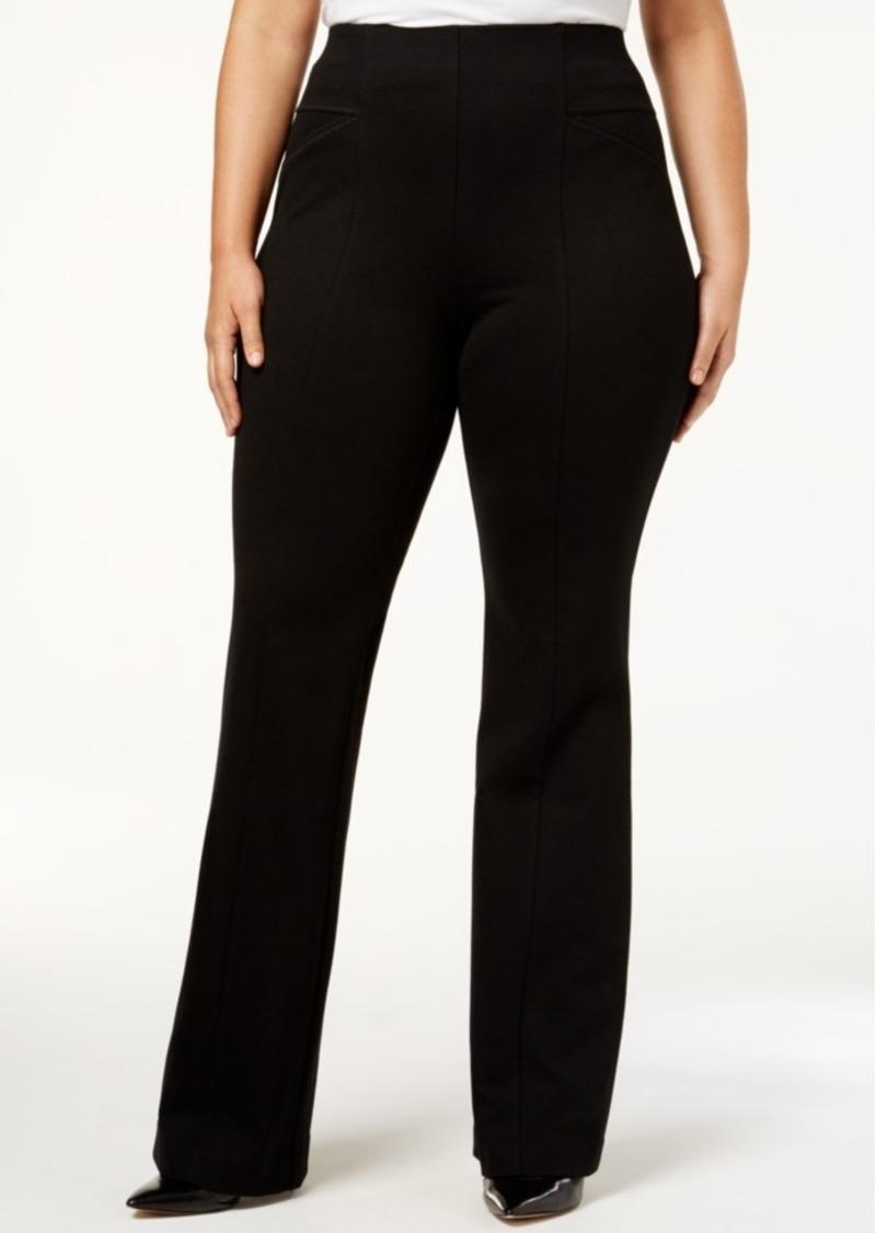 398e839c7fd INC International Concepts I.n.c. High-Waist Bootcut Ponte Pants ...