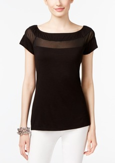 Inc International Concepts Illusion Top, Created for Macy's
