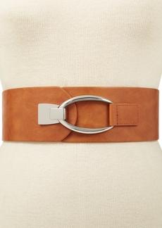 INC International Concepts Inc Interlocking-Hook Plus-Size Stretch Belt, Created for Macy's