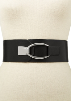 INC International Concepts Inc Interlocking-Hook Stretch Belt, Created for Macy's