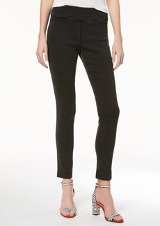 INC International Concepts Inc Jacquard Dot Slim Pants, Created for Macy's