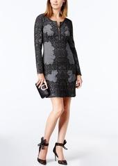 Inc International Concepts Jacquard Sheath Dress, Created for Macy's
