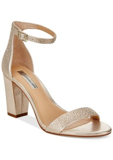Inc International Concepts Kivah Block-Heel Dress Sandals, Only at Macy's Women's Shoes