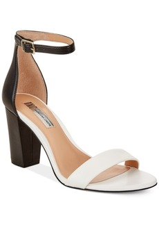 Inc International Concepts Kivah Block-Heel Dress Sandals, Only at Macy's Women's Shoes